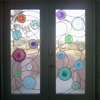 Nautical Seas Stained Glass